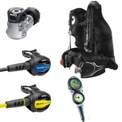 Mares Journey Elite 3.0 Upgrade Scuba Gear Package with Puck 2 Dive Computer