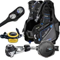 Aqua Lung Pro HD Essential Scuba Gear Package