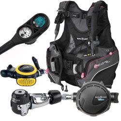 Aqua Lung Women's Scuba Gear Package