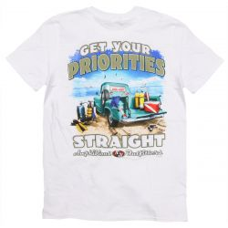 Amphibious Outfitters Get Your Priorities Straight T-Shirt (Men's)