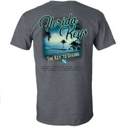Amphibious Outfitters Key to Diving Short-Sleeve Tee
