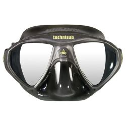 Aqua Lung Micromask Dive Mask - Black/Black