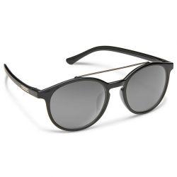 Suncloud Belmont Polarized Polycarbonate Sunglasses - Black/Gray