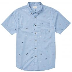 Billabong Sundays Floral Short-Sleeve Shirt