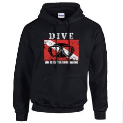 Black Dive Sweatshirt