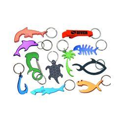 Bonefish Bottle Opener Key Chain