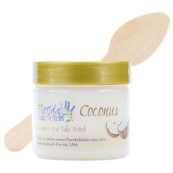 Florida Salt Scrubs Coconut 2.9 oz Jar