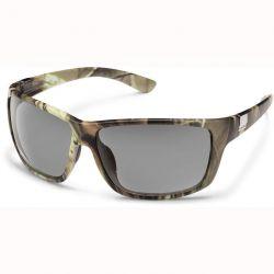 Suncloud Councilman Sunglasses - Matte Camo/Gray Polarized Lens