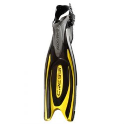 Cressi Frog Plus Scuba Fins - Yellow (M/ L)