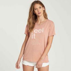 Billabong Feel It All Boyfriend Short Sleeve T-shirt (Women's)