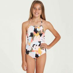 Billabong Shaka Daze One-Piece Swimsuit (Girls')