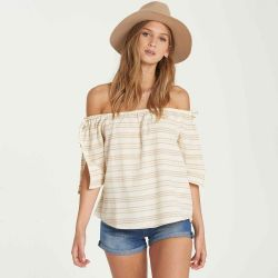 Billabong Match Up Off-The-Shoulder Top (Women's)
