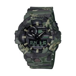 Casio G-Shock GA700CM Series Camo Wrist Watch (Men's)