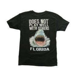 Duck Co. Play Well Shark Short-Sleeve T-Shirt (Men's)