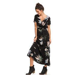 Roxy Lotus Heart Short-Sleeve Maxi Dress (Women's)