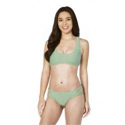 Bikini Lab Sand Dunes Scoop Neck Bralette Bikini Top (Women's)