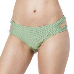 Bikini Lab Sand Dunes Cutout Hipster Bikini Bottom (Women's)