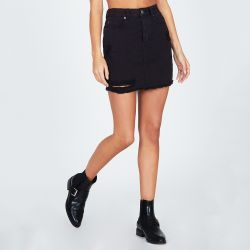Amuse Society Shortcut Denim Skirt (Women's)