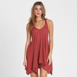 Billabong Twisted View T-Back Sun Dress (Women's)