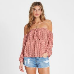 Billabong Forever Lover Off-the-Shoulder Top