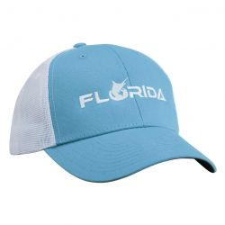 Pelagic Florida Offshore Trucker Hat - Light Blue