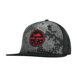 PELAGIC Hex Camo Snapback Cap (Men's)