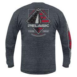 PELAGIC Patriot Tuna Long-Sleeve Shirt (Men's)