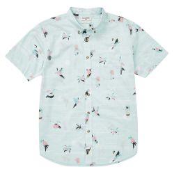 Billabong Sundays Mini Print Button-Down Shirt (Men's)