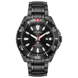 Citizen Promaster Diver Watch (Men's) - Black Stainless Steel