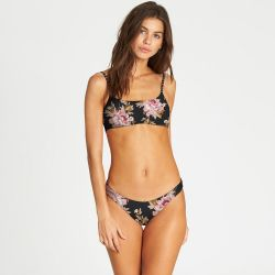 Billabong Mellow Luv Mini Crop Reversible Bikini Top (Women's)