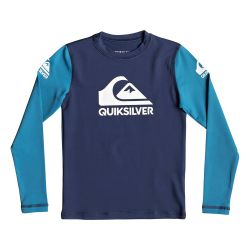 Quiksilver Heat On UPF 50+ Long-Sleeve Rashguard (Boys')