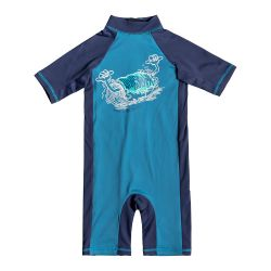 Quiksilver One-Piece Spring UPF 50+ Short-Sleeve Rashguard (Boys')