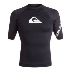 Quiksilver All Time UPF 50+ Short-Sleeve Rashguard (Men's)