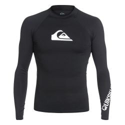 Quiksilver All Time UPF 50+ Long-Sleeve  Rashguard (Men's)