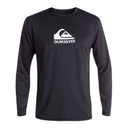 Quiksilver Solid Streak Long-Sleeve UPF 50+ Rashguard (Men's)