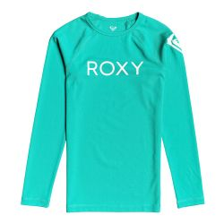 Roxy Funny Waves Long Sleeve UPF 50+ Rashguard (Girls')