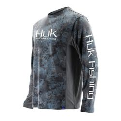 Huk Icon Camo UPF 30+ Long-Sleeve Performance Shirt (Men's)