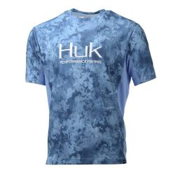 Huk Icon Camo UPF 30+ Short-Sleeve Performance Shirt (Men's)