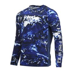 Huk Pursuit Camo Vented Long-Sleeve Performance Shirt (Men's)