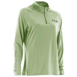 Huk ICON Long Sleeve Quarter-Zip Hoodie (Women's)