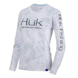 Huk Camo Icon Long Sleeve Performance Shirt (Women's)