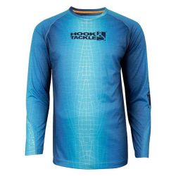 Hook & Tackle Fractal Skin Wicked Dry and Cool Fishing Shirt (Men's)