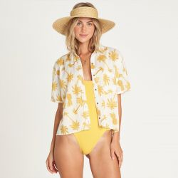 Billabong Hana Koa Button-Down Top (Women's)