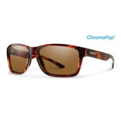 Smith Drake Polarized Glass Polarized Sunglasses - Tortoise/Bronze Mirror