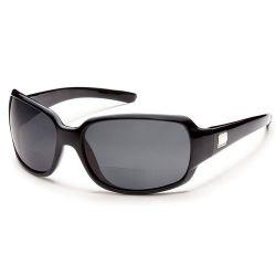 Suncloud Cookie Black/Grey Sunglasses +2.00