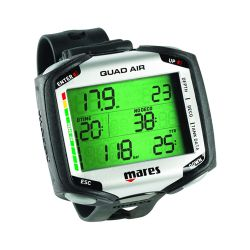 Mares Quad Air Wrist Dive Computer - Black