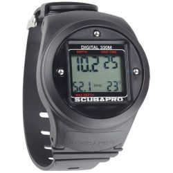 ScubaPro Digital Depth Gauge Wrist Mount