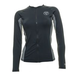 EVO Delmar UPF 50+ Long-Sleeve Full Front Zip Rashguard