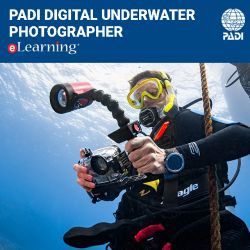 PADI eLearning® Underwater Digital Photographer Online Course