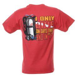 Dive Days Scuba T-Shirt (Men's)
